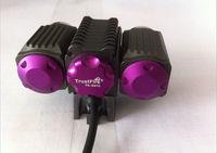 2pcs TrustFire D012 3x CREE XM-L2 LED 6000 lumens Bicycle light Bike Lamp Headlamp Free DHL/FEDEX