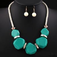 Fashion decoration necklace set autumn and winter women accessories necklace accessories necklace chain female