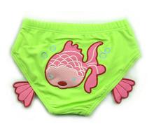 Unisex Baby Animal Spandex Swim Diapers Swimwear Swimsuit Boy Girl Trunks Emboidery