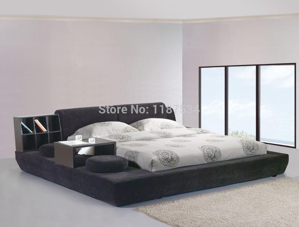 Online Get Cheap Modern King Bed Frame