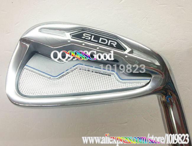 NEW Golf Clubs SLDR Golf Iron set 4-9PS A.9pcs Regular Club Golf graphite shaft iron Club Set DHL Free Shipping(China (Mainland))
