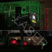 Cheapest Red Grenn rotating firefly Christmas lights projector,decorative Christmas treeoutdoor laser lighting