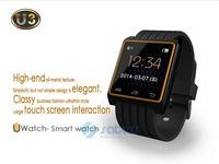W502 Bluetooth Smart U Watch U3 With Touch Screen WiFi Motion Sensor 2014 New Sports Wristwatch with Remote Camera Function