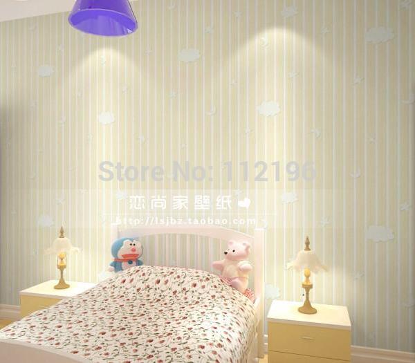 10 M Modern 3D estéreo em relevo faixa Vertical não tecido papel de parede para crianças murais fundo Household pintura de parede(China (Mainland))