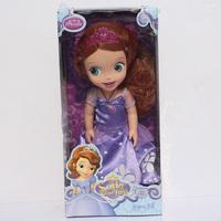 Free Shipping Sofia the First Princess Sofia Doll Plush Toys Stuffed Soft Toys Dolls For Girls 30cm
