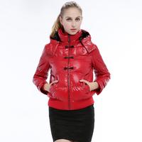 Women's slim short down coat winter jacket women