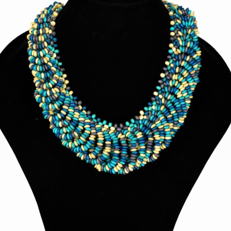 ожерелье женщины chic boho красочные колье