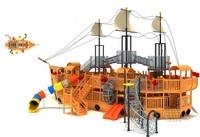 big landscape wood cruises playground