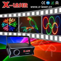 500mW full color laser light Professional Stage Projector laser outdoor christmas light wedding decoration light elf light