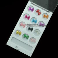 KQH214 3D Nail art decoration Resin nail charms 12 mixed color wholesale 5 sets/lot epacket free shipping