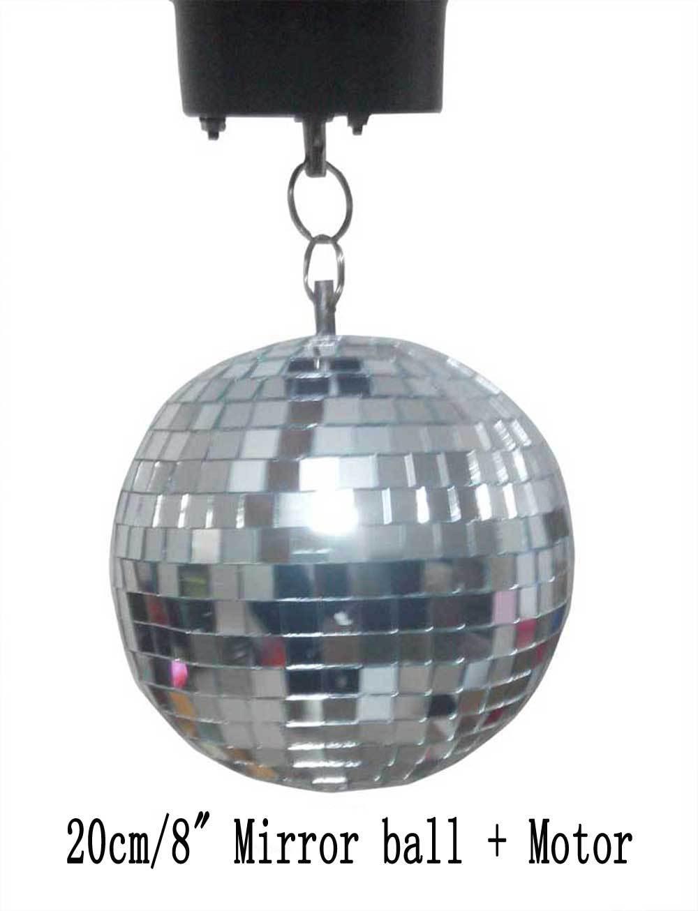 Achetez en gros tourner la boule facettes en ligne des for Miroir tournant