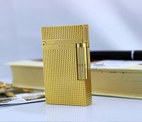 stdupont Dupont lighters broke into small squares gas lighter golden crisp sound