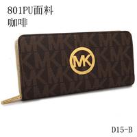 2014 new Vertical michaelled Leather korss Famous Brand Fashion Designer Wallets for Women Purses Bags wallet