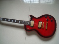 278 Dollars red burst custom electric guitar free shipping in stock send out in 2 days just one