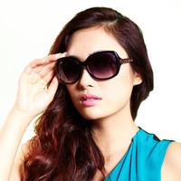 CASATO 2014 New Anti UV Sunglasses Oversized Fashion Sunglasses Women Driving Sunglasses A969J