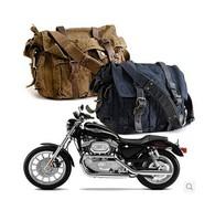 European American Classic British Retro BELSTAF Bag Men's Shoulder Diagonal Canvas Bag Army Green Black Coffee 30*36*12cm
