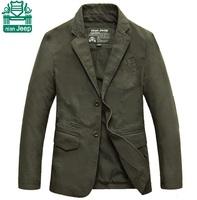 NianJeep New 2015 Plus Size 4XL New Design Real Man Motorcycle Jacket Slimming Sports Coats Cotton Water Washing Blazer Cardigan