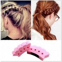 1pcs Free Shipping DIY fashion styling hair braids machine / hair braider Hair Styling Tool DGFS2006