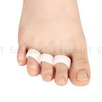 3 Holes toe outer bone orthotics Toes separator Claw Shaped Hallux valgus Foot Care Toe correctors