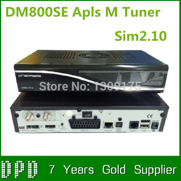 free shipping high quality 800se D13 version mainboard 800 HD SE satellite TV receiver sim 210 ALPS 801A M tuner dm 800se()