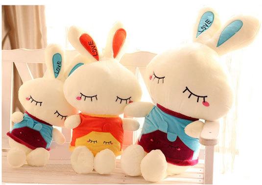 Diy Bunny Toys Cartoon Bunny Plush Toy