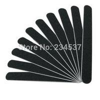Details about 10PCS/Lot Black Sanding Nail File Nail Art Buffer Salon Manicure Tools Sandpaper