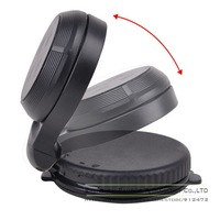 1pcs Suporte Para Carro Flexible 360 Rotation Mount Telephone Holder Magnetic Car Dashboard Windshield Stand Mounts