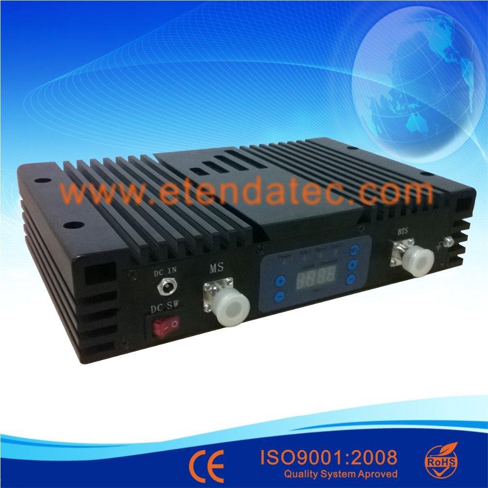27dbm 80dB FREE SHIP/Digital display/Auto and Manual control gain/dual band repeater/any two systems of CDMA,GSM,DCS,PCS,WCDMA(China (Mainland))