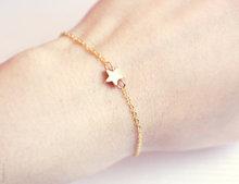 TS1218 Fashion simple chain star bracelet jewelry