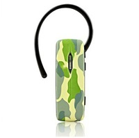 Unique hot selling camouflage bluetooth headset,wireless headphone for iphone,stereo earphone free shipping F-E011