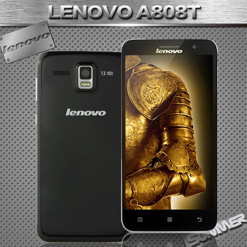 Original Lenovo A806 A8 A808t GSM MTK6592 Octa Core Mobile Phone 1 7GHz 5 0 13