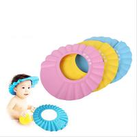 Free Shipping Hot Safe Soft Baby Kids Children Shampoo Bath Shower Cap Bathing Hats Gift