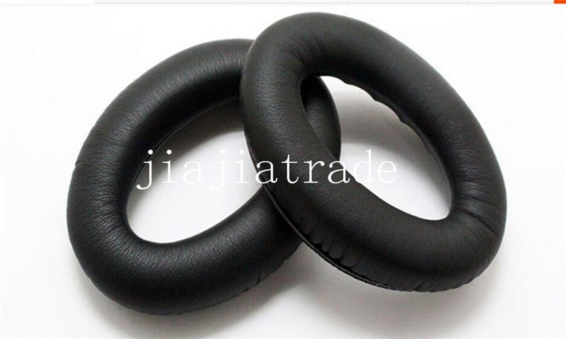 200PCS/LOT fashion black durable soft earphone headphone Replacement Ear Pad Foam Cushion FOR QC15 ear pad + ear cups(China (Mainland))