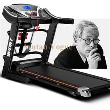 Promotion! home multifunctional  electric treadmills fitness folding motorized gym equipment running machine free ship worldwide(China (Mainland))