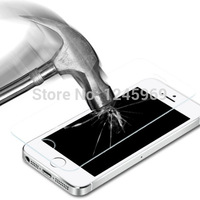 A11 10pcs High Quality Tempered Glass Screen Protector Toughened Membrane For iPhone 5/5C/5S CN286 T15
