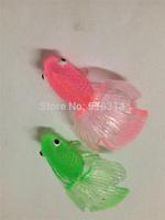 2015.NEW! Small solid animal model toy ornamental fish small goldfish model