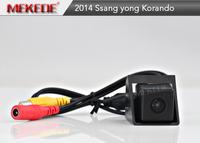 CCD Car Reverse Camera for Ssangyong new Actyon Korando 2014 Reversing Backup Rear View Parking Camera Night Vision
