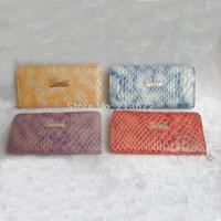 Euramerican Fashion Women's Wallet  Fashions PU Leather Letter Zipper Long Wallets Holders Purse Clutch Wallet Coin Purse Retail