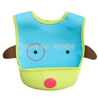 50pcs/ lot SKP Zoo Baby Bibs Cartoon Animals Waterproof Infant Bib Toddlers Boys Girls Saliva Towel Free Drop Shipping Wholesale