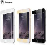 For Apple iPhone 6 Plus BASEUS Ultrathin Tempered Glass Film Full Screen Covering For iPhone6 Plus Show Real Machine Free Ship