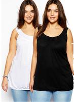 Plus Size Women Tank Tops 6XL Big Size 5XL Female Blouse Clothing Full Figure Female T shirt Large Size 4XL Blusa Clothes Tops