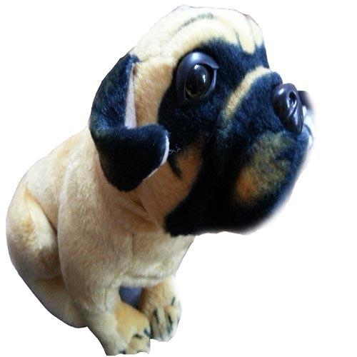 Free Shipping hot sale 2pcs/lot 30cm mini plush dog animals soft pp cotton plush brown dog baby stuffed toys Christmas gifts(China (Mainland))