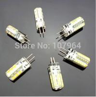 G4 DC12V 3W 5W 6W Silicone LED Bulb Corn Lamp for Chandelier Lamp LED Spotlight Bulb Warm Cold White  Warm White 10pcs/lot