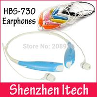 HBS-730 Sport Neckband Headset In-ear Wireless Headphones Bluetooth Stereo Earphones Earphone Headsets For iphone5 5S S4 Note 3