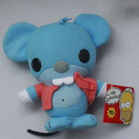 "IN HAND!!LOTS FUNKO POP PLUSH ~THE Simpsons~ blue mouse~ CUTE!! 20CM 8"" STUFFED DOLL TOY PP COTTON FREE SHIPPING!"