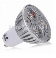 6pcs/lot High Power Led lamp 3W GU10 AC85-265V Led Spot light Spotlight Led Bulb Cold/Warm White