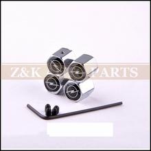 Anti-theft Style Opel LOGO Car Badge Wheel Tire Valve Cap Tyre Dust Cap(China (Mainland))