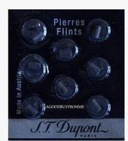 Dupont lighter accessories dedicated flint Dupont original top