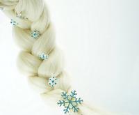 Hotsale  6 PCS  Snowflake Hairgrips Set Children Hair Accessories  Wholesale CBH-19012