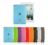 Free gifts +  back plastic cover case For Ipad air Smart Cover back cover case